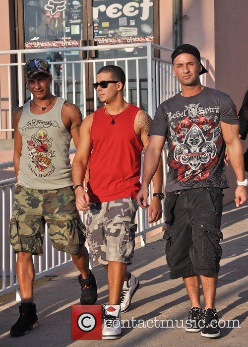 Vinny Guadagnino, Pauly Delvecchio, Mike Sorrentino  The...
