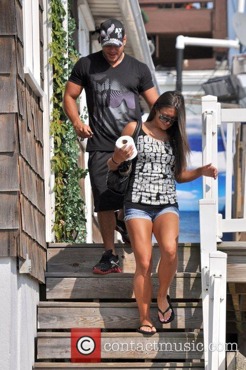 Sammi Giancola and Ronnie Ortiz-Magro leaves the Shore...