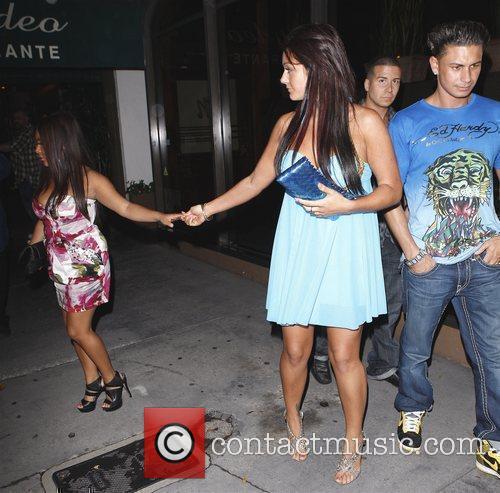 Nicole 'Snooki' Polizzi, Sammi 'Sweetheart' Giancola, Vinny and...