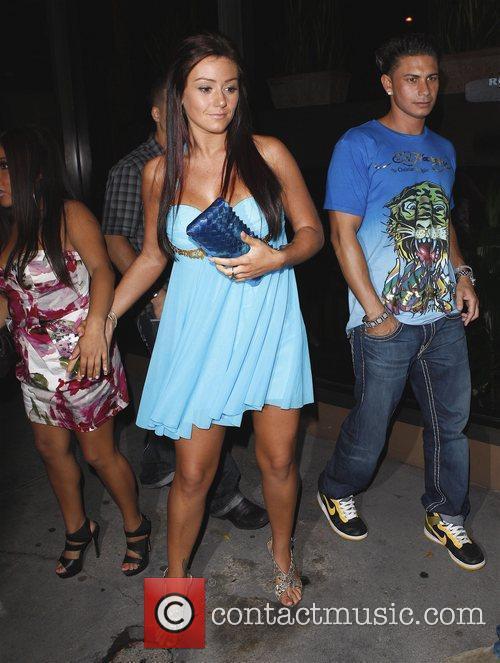 Nicole 'Snooki' Polizzi, Sammi 'Sweetheart' Giancola and DJ...