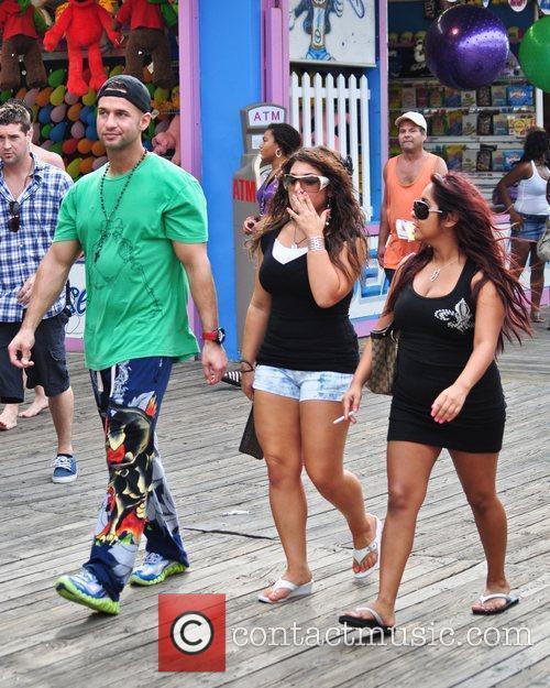 Mike The Situation Sorrentino, Deena Nicole Cortese, Nicole...