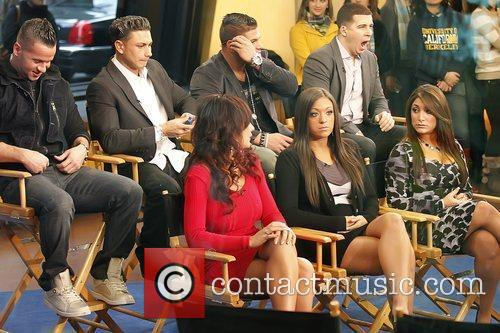 Mike Sorrentino, ABC, Good Morning America, Jenni Farley, Jersey Shore, MTV, Paul Delvecchio