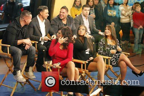 Mike Sorrentino, Jenni Farley, Jersey Shore, Mtv and Paul Delvecchio 1