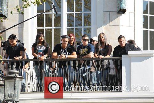 The cast of MTV's 'Jersey Shore' are interviewed...