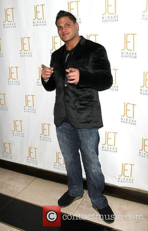 Hosts an evening at JET nightclub at the...