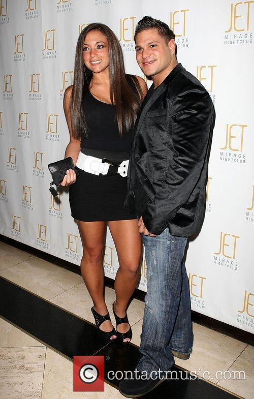 Ronnie Magro and Sammi Giancola hosts an evening...