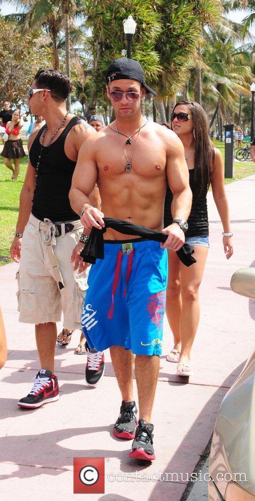 Reality star Michael 'the Situation' Sorrentino, Sammi Sweetheart...