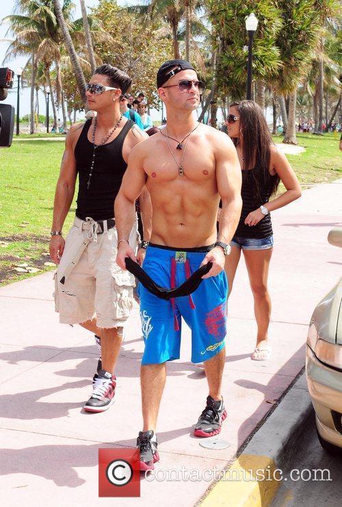 Reality star Michael 'the Situation' Sorrentino, Paul DJ...