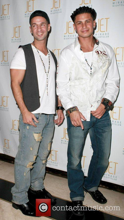 Mike 'The Situation' and Pauly D 'Jersey Shore'...