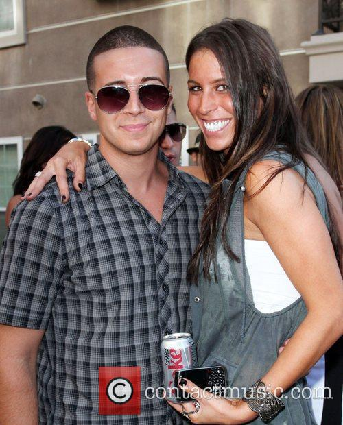 Vinny Guadagnino and stylist Jenny Luciani KIIS-FM Hosts...