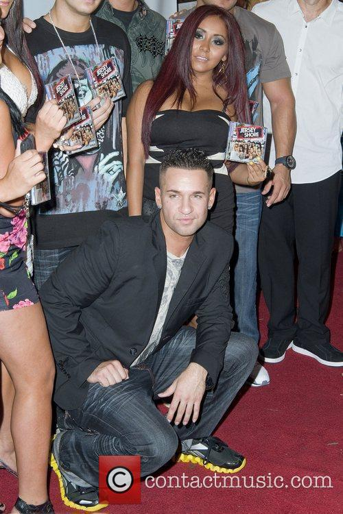 Mike 'The Situation' Sorrentino and Nicole 'Snooki' Polizzi...