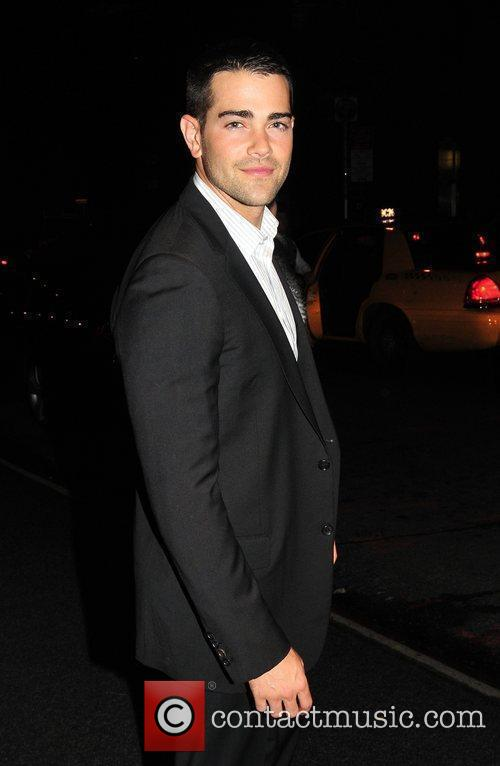 Jesse Metcalfe outside his hotel New York City,...