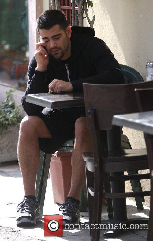 Seen talking on his phone in Beverly Hills