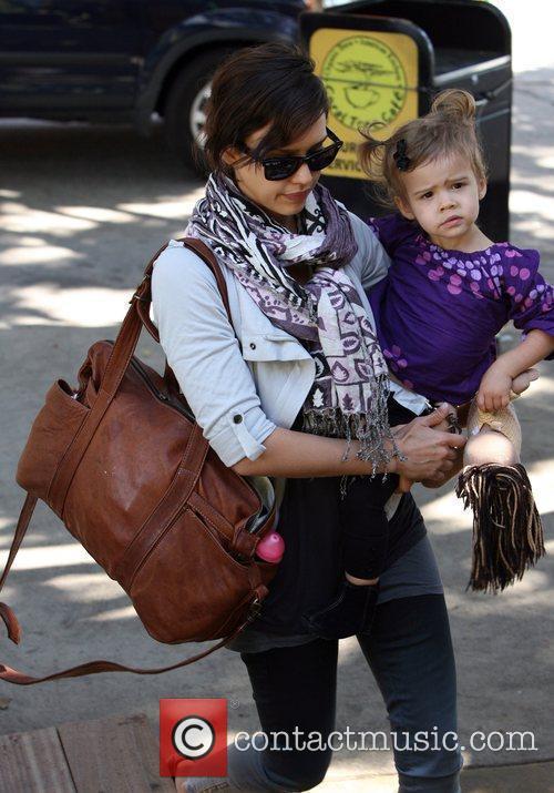 Jessica Alba and her daughter Honor Marie Warren...