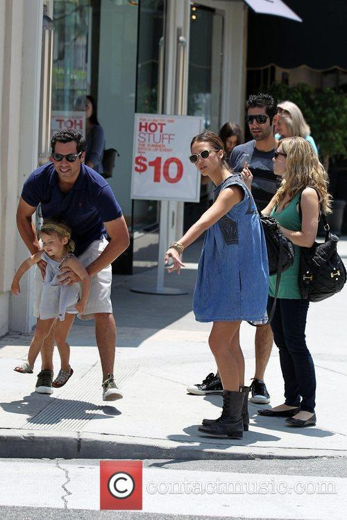Jessica Alba, Cash Warren and Honor Marie Warren 14
