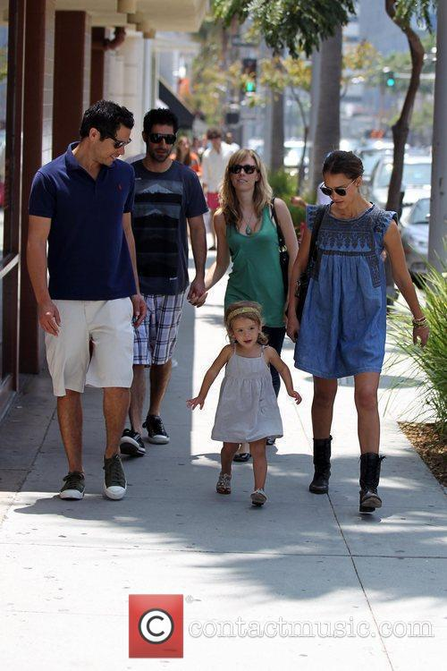 Jessica Alba, Cash Warren and Honor Marie Warren 11