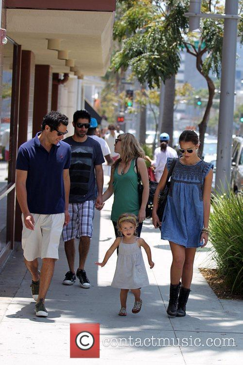 Jessica Alba, Cash Warren and Honor Marie Warren 10