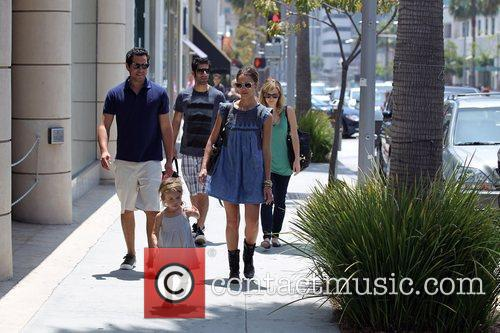Jessica Alba, Cash Warren and Honor Marie Warren 13
