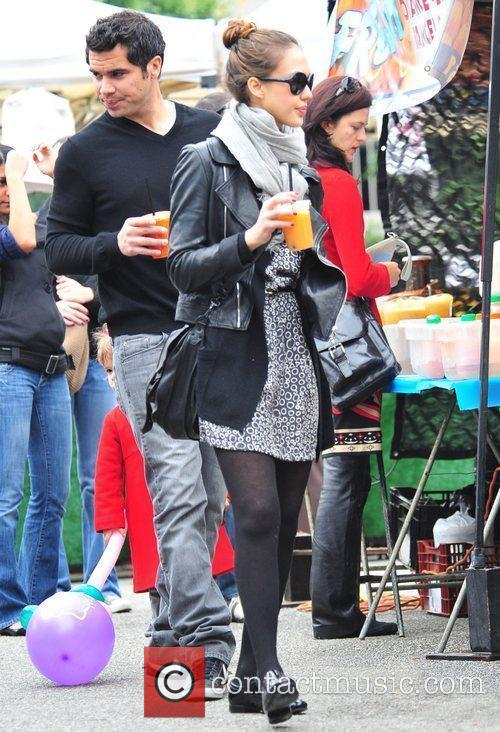 Jessica Alba and CASH WARREN 1