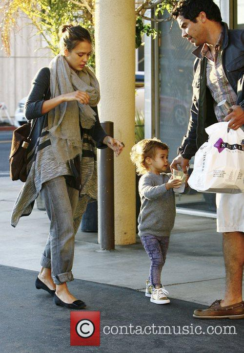 Jessica Alba and Cash Warren spotted out and...