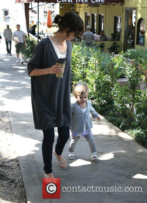 Jessica Alba and Daughter Honor Marie Warren 6