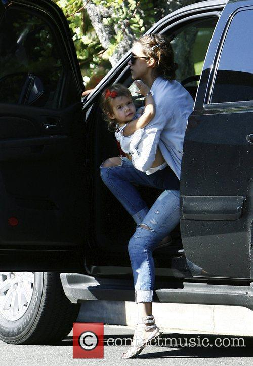 Jessica Alba and Her Daughter Honor Marie Warren 5