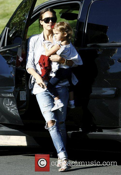 Jessica Alba and Her Daughter Honor Marie Warren 8