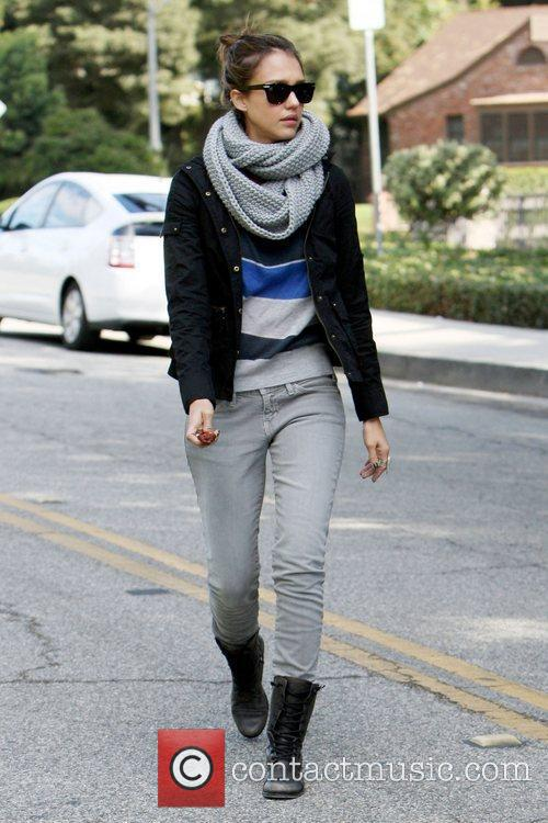 Jessica Alba enjoy's a family day out in...