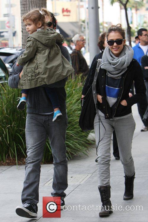 Jessica Alba and CASH WARREN 11