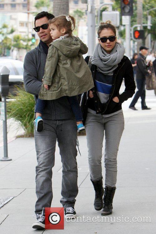 Jessica Alba and CASH WARREN 12