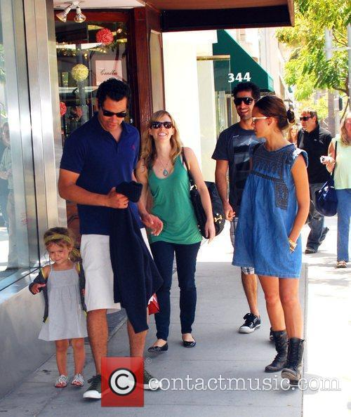 Jessica Alba, Cash Warren and Honor Marie Warren 19