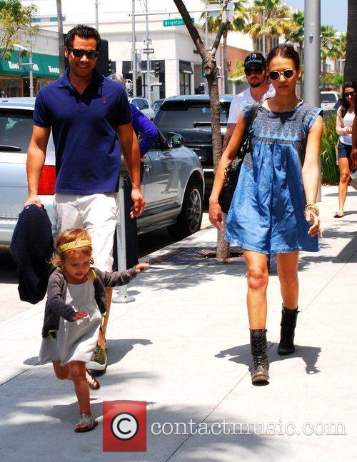 Jessica Alba, Cash Warren and Honor Marie Warren 18