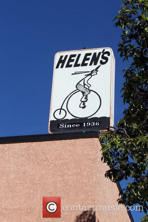 Helen's bike shop exterior Jessica Alba takes her...
