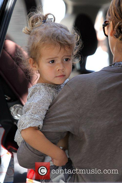 Jessica Alba and Her Daughter Honor Marie Warren Go Shopping In Beverly Hills 1