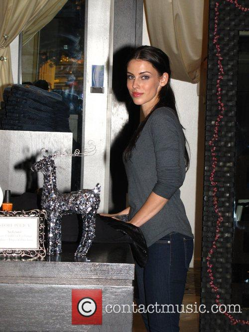Jessica Lowndes shopping at at Paige Jeans Los...