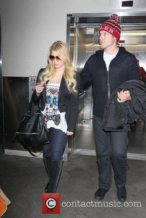 Jessica Simpson and Eric Johnson 1
