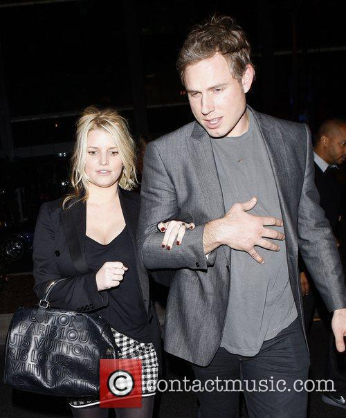 Jessica Simpson and Eric Johnson 9