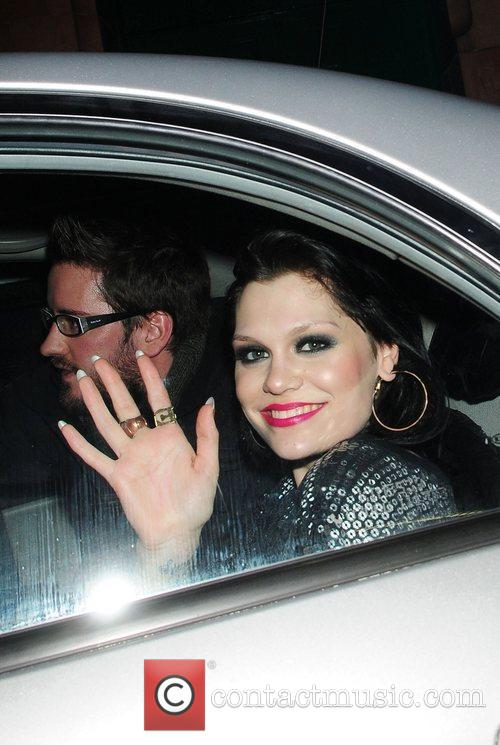 Jessie J (real name Jessica Cornish) leaving Night...
