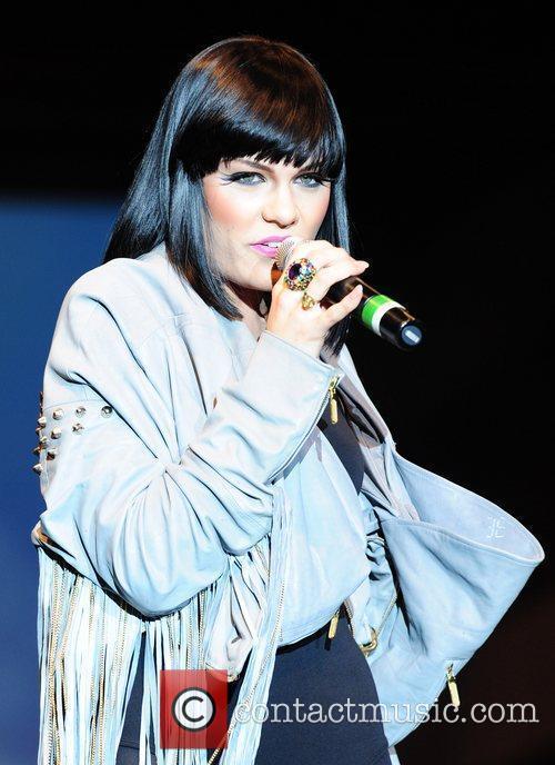 Jessie J performing at 'Britain's Next Top Model...
