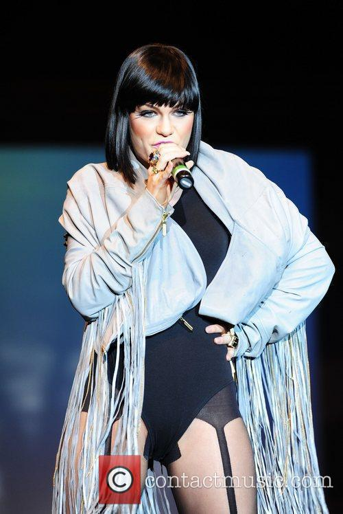 Jessie J performing at 'Britain's Next Top Model...