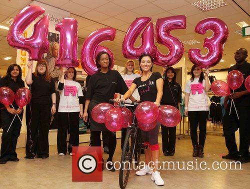 Breast Cancer Campaign Photocall held at Debenhams