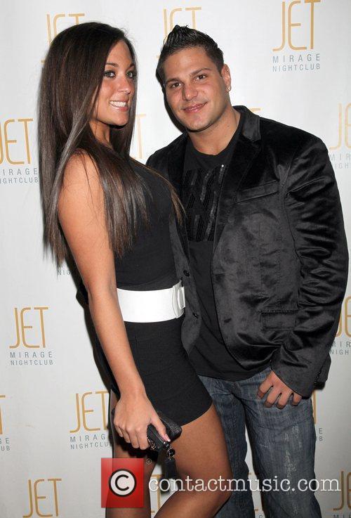 Reality stars Sammi Giancola and Ronnie Magro of...