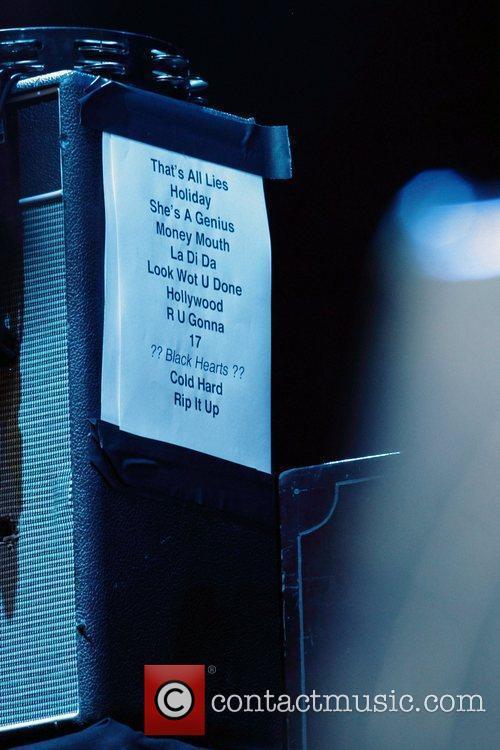 Jet performs live in concert at Memorial Drive...