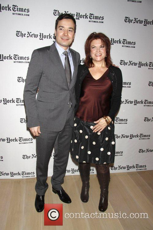 Jimmy Fallon and Rosanne Cash Day one of...
