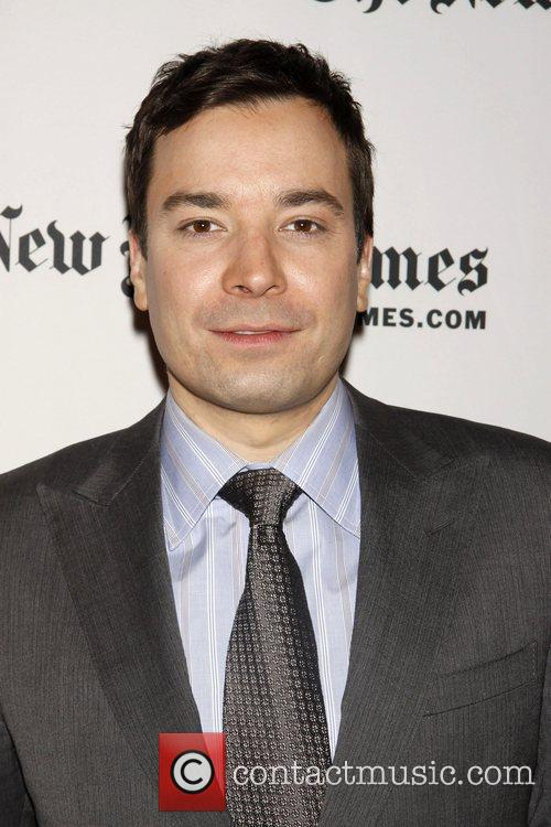 Jimmy Fallon Day one of the New York...