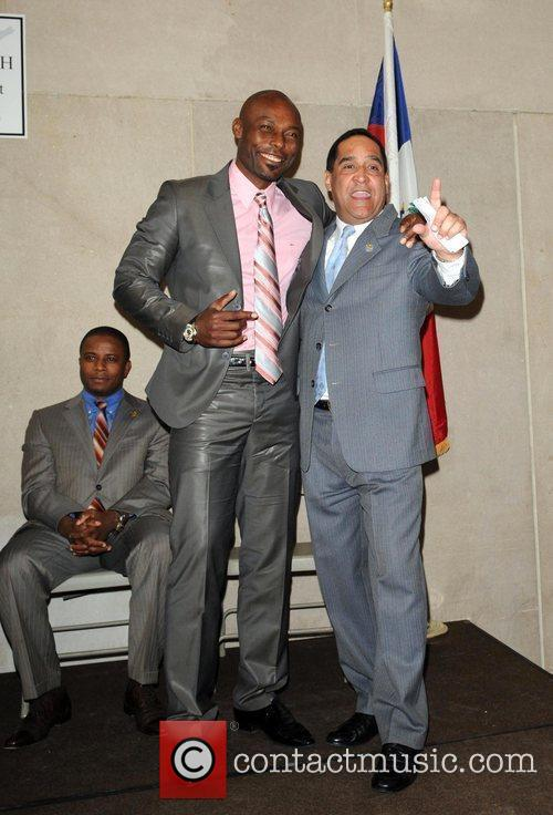 Mayor of North Miami Andre Pierre, Jimmy Jean...