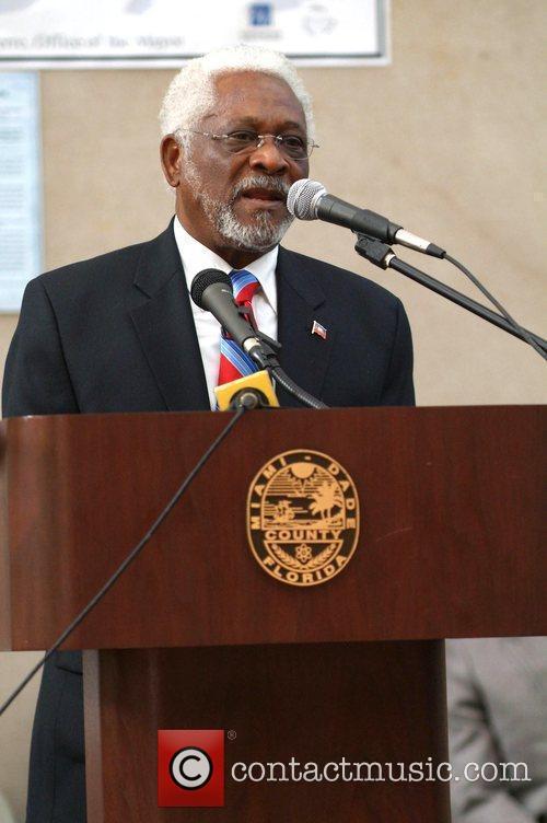 Haiti Ambassador to the U.S. Raymond A. Joseph...