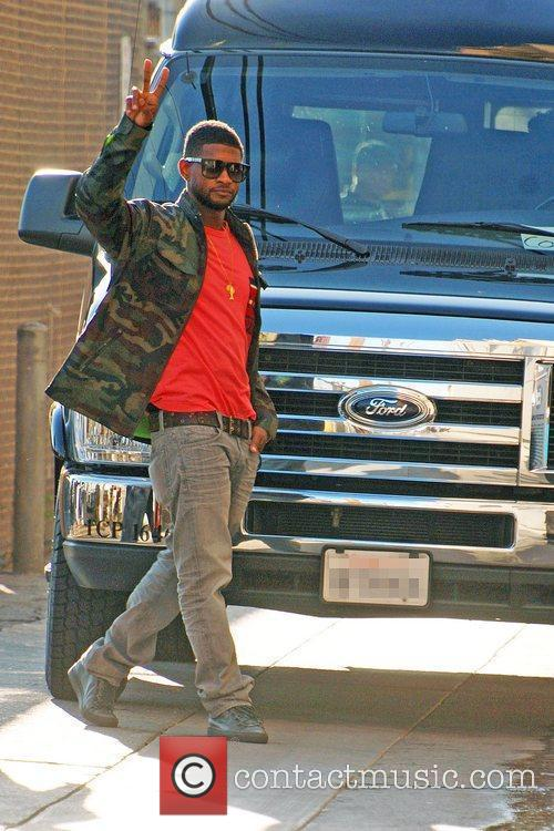 Usher Raymond and Jimmy Kimmel 4