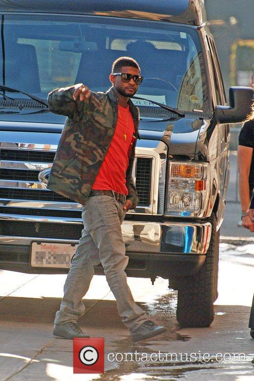 Usher Raymond and Jimmy Kimmel 3
