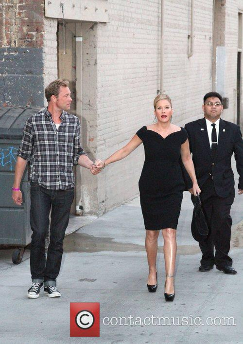 Christina Applegate and Jimmy Kimmel 3